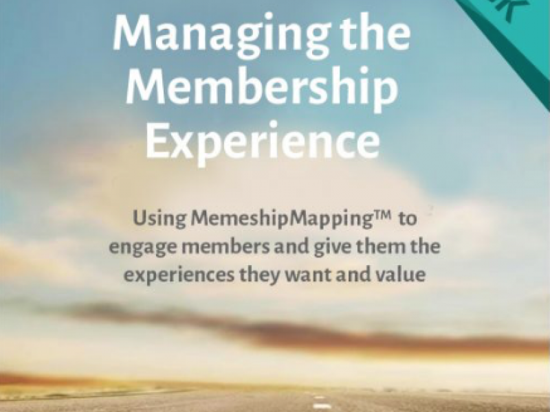 Sue Froggat's Managing the Member Experience